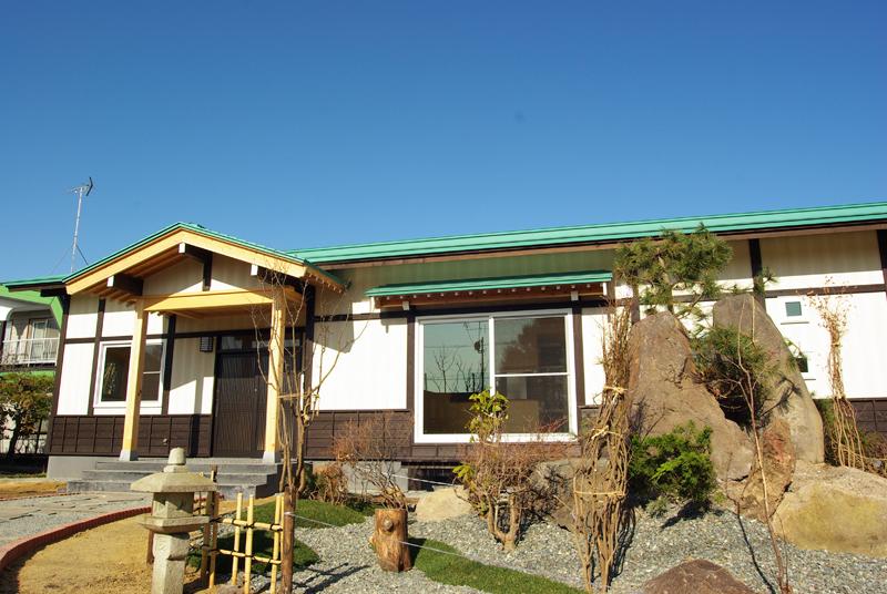 写真:緑に囲まれた平屋の家 〜夕張郡 腰本邸〜(1)
