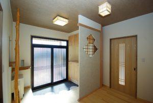 写真:緑に囲まれた平屋の家 〜夕張郡 腰本邸〜(2)