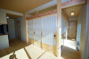 写真:緑に囲まれた平屋の家 〜夕張郡 腰本邸〜(3)