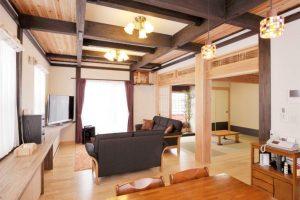 写真:オーナーのご両親も安心の丈夫な設計。遊び心を加えた和の家 〜札幌市東区 福嶋邸〜(3)