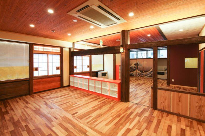 写真:札幌市南区 小規模保育園「木育こどもの家」藤野園(1)